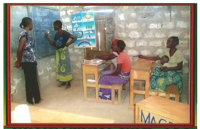 mother's in school, adults learn to write and read_1_nov_2014