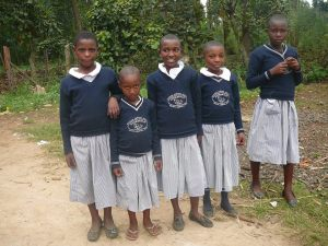 kisoro girls in pullovers